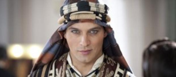Gabriel Garko, scena di nudo in Rodolfo Valentino