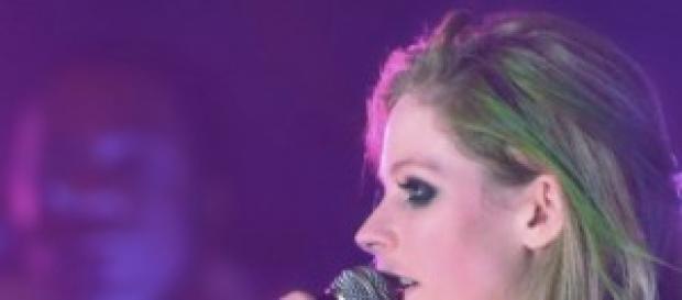 Avril Lavigne, nota cantautrice canadese