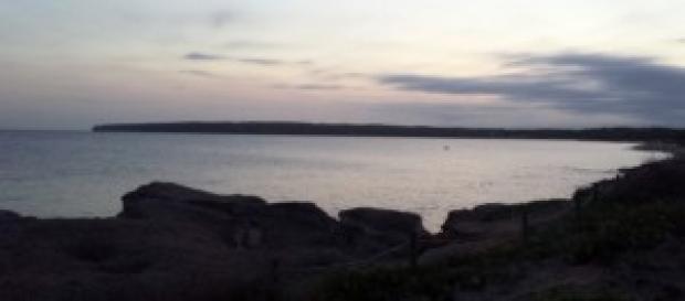 Platja de Migjorn al tramonto