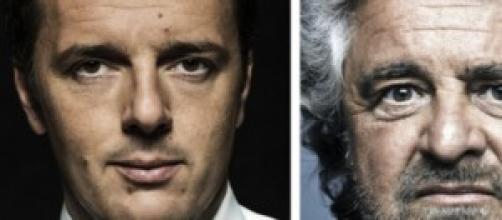 Renzi-Grillo: duello alle Europee