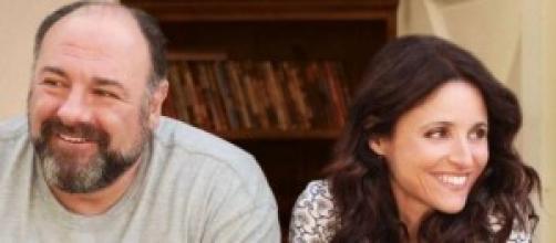 Julia Luis-Dreyfuss, e James Gandolfini