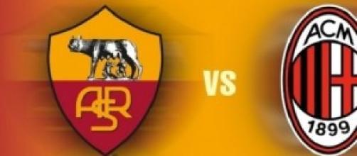 Serie A live, diretta Roma - Milan, ore 20,45