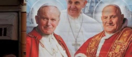 Canonizzazione Papi: diretta Tv 27 aprile