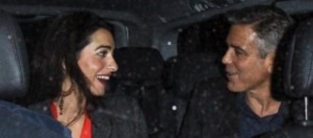 George Clooney, matrimonio con Alma Alamuddin?