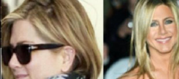 i capelli di Jennifer Aniston prima e dopo