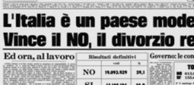 "La prima pagina de ""La Stampa"""