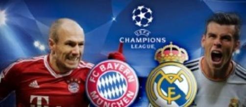 Champions League, pronostico Bayern - Real