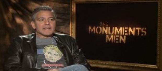 """Clooney, interprete de """"Il mostro di Firenze"""""""
