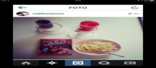 La foto su Instagram di Beatrice Valli per Marco
