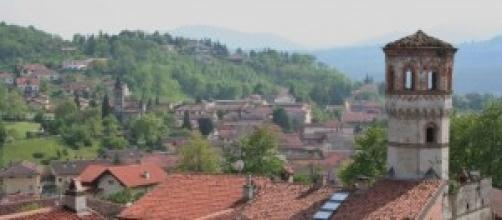 Panorama di Avigliana, in Val di Susa