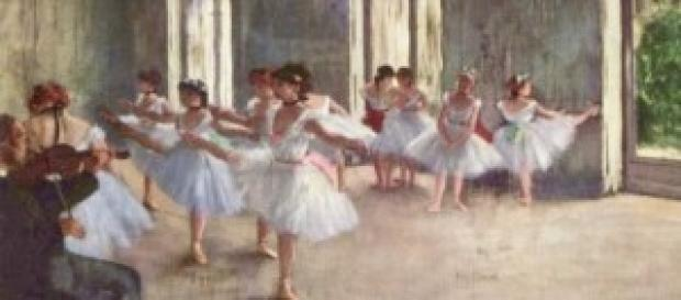 Le ballerine di Degas, suo famoso quadro