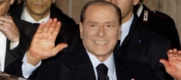 Leader di Forza Italia, Silvio Berlusconi