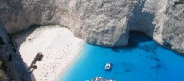 meravigliosa isola greca di Zante