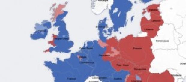 L'Europa e l'accerchiamento territoriale