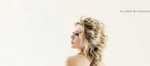 Brigitta Boccoli senza veli su Playboy
