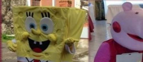 Peppa e Spongebob on tour per la GdG Eventi
