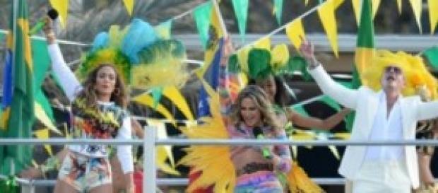 Jennifer Lopez, Pitbull e Claudia Leitte