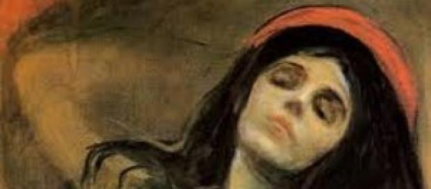 Madonna di Edvard Munch, in esposizione a Genova
