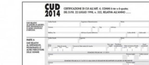 Modello CUD 2014 pensionati e disoccupati