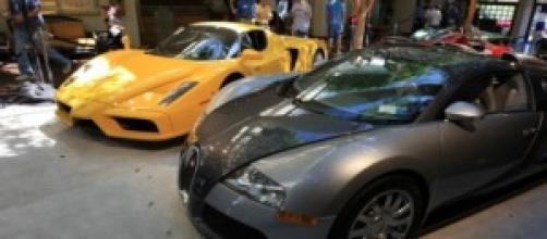 Due delle più veloci auto del mondo