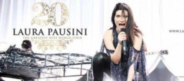 Anticipazioni Tv, concerto Laura Pausini su Raiuno