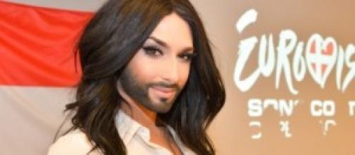 la drag queen barbuta vince l'eurosong