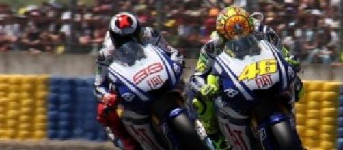 La rivalità di Jorge Lorenzo e Valentino Rossi