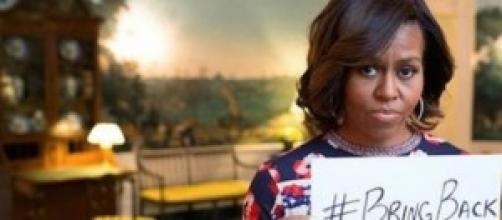 Michelle Obama su Twitter per le studentesse