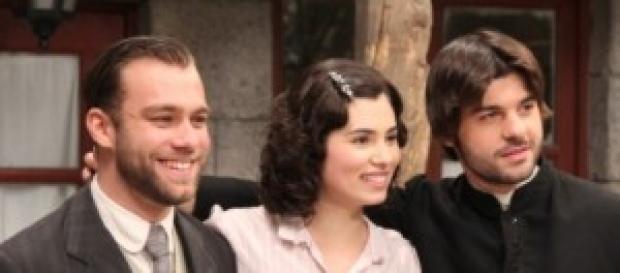 Maria e Martin insieme nella seconda serie