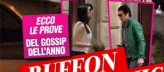 Ilaria D'amico e Gigi Buffon, le foto