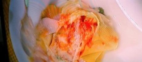 Rosette agli asparagi gratinate