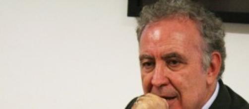Michele Santoro, conduttore di Servizio Pubblico