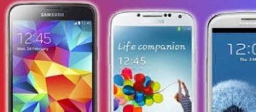 I Prezzi più bassi di Samsung Galaxy S5,S4, S3