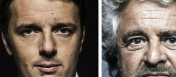 Duello in vista tra Renzi e Grillo