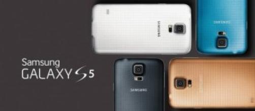 Immagini del Samsung Galaxy S5
