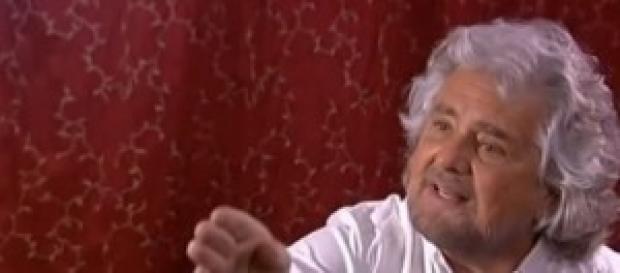 Beppe Grillo a 'Porta a porta', Rai1, 19 maggio
