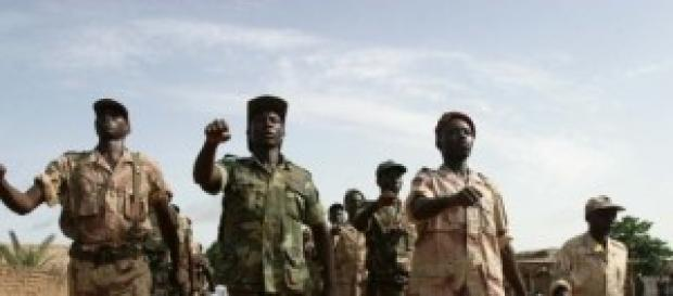 Rebeldes en Nigeria, África Occidental