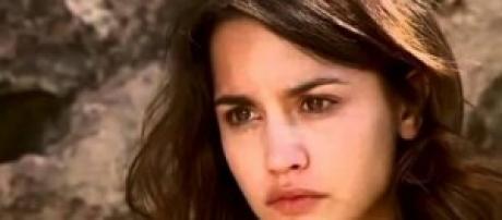 Pepa, protagonista della soap 'Il segreto'