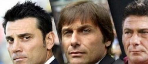 Conte, Montella, Mazzarri