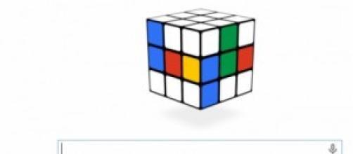 il cubo di Rubik oggi nel doodle di Google