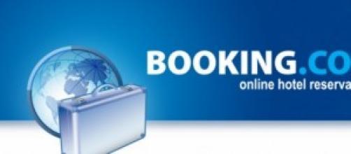 Il logo del famoso portale Booking.com