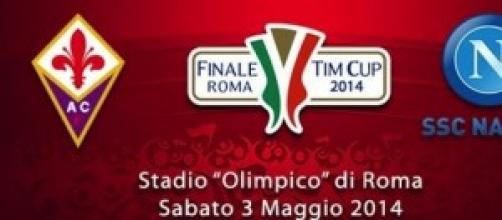 Formazioni fiorentina-Napoli finale TimCup 2014