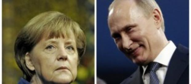 Contatto Merkel e Putin su Ucraina e ostaggi Ocse