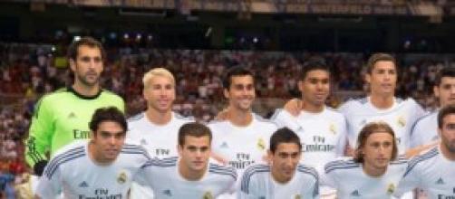 Gli undici titolari del Real Madrid