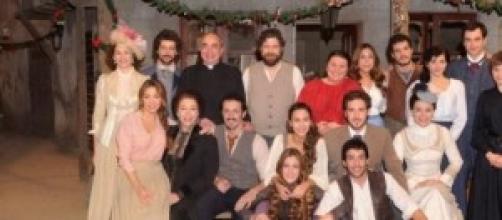 Il cast della soap opera spagnola 'Il Segreto'
