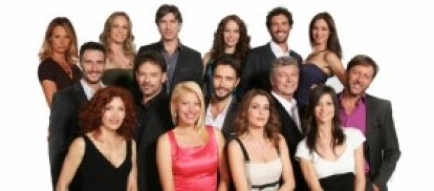Il cast della soap 'Centovetrine'