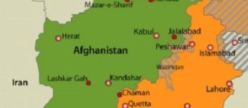 Afganistan, Pakistan e i distretti tribali