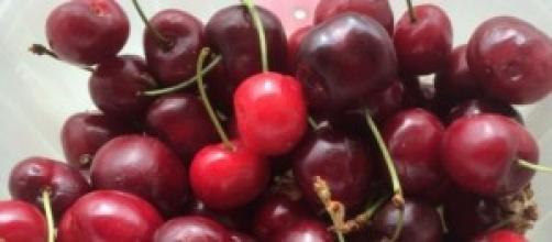 insieme cromatico di ciliege