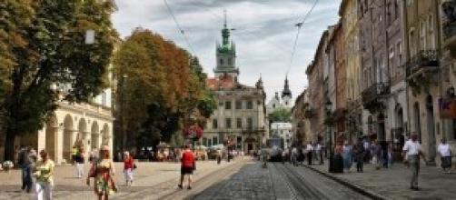 Leopoli, città ucraina che guarda all'Europa