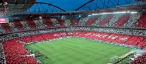 """Lo stadio """"Da Luz"""" di Lisbona"""
